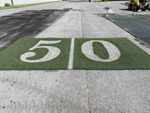 50 Yard Line Marker Auction