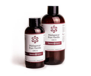 Madagascar Pure Vanilla (Organically Sourced) 4 floz Bottle