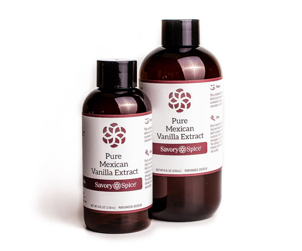 Pure Mexican Vanilla Extract 4 floz Bottle