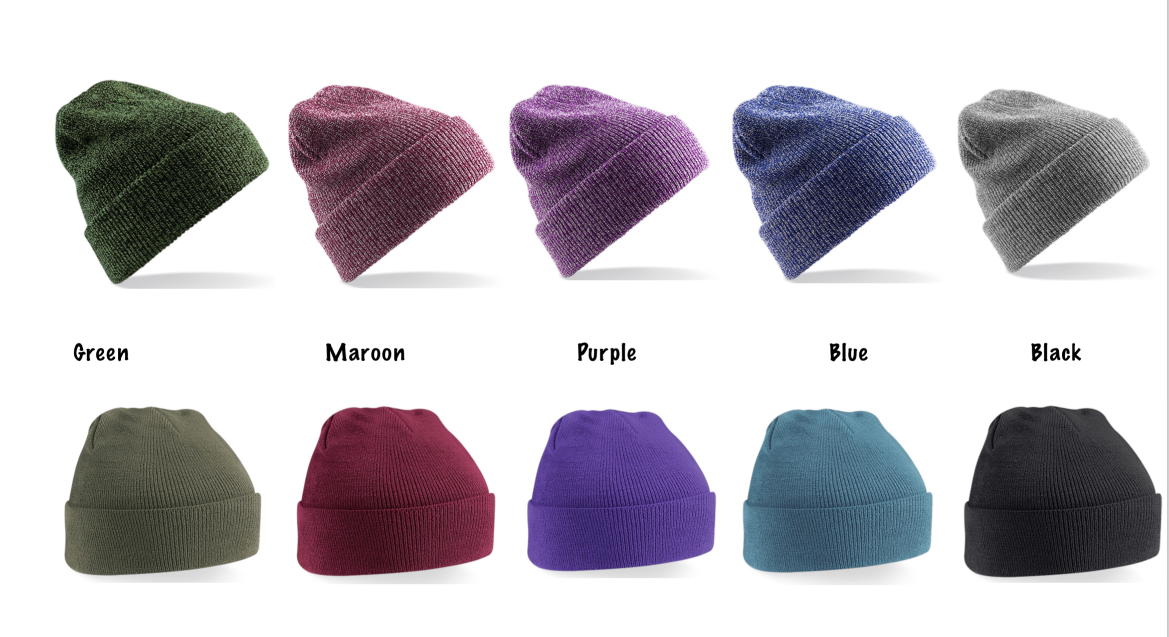 wholesale customised beanies for clubs and universities