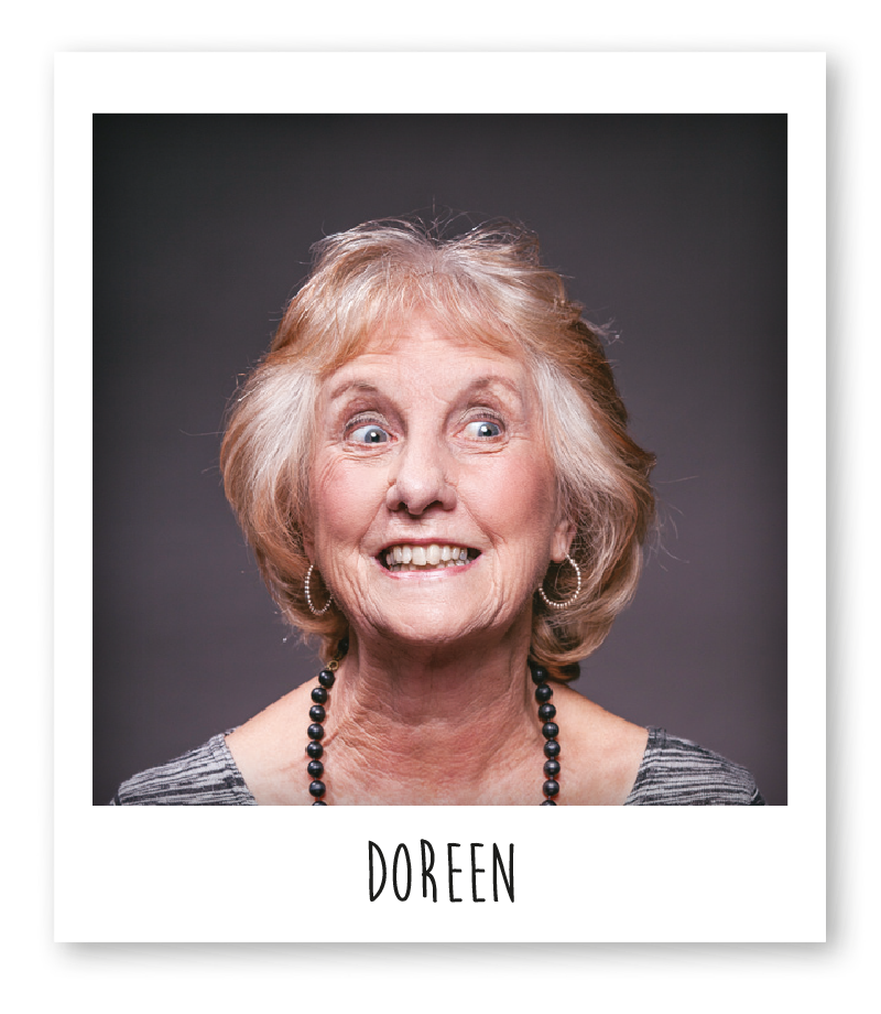 doreen is a funi knitter and has been with the company for 10 years