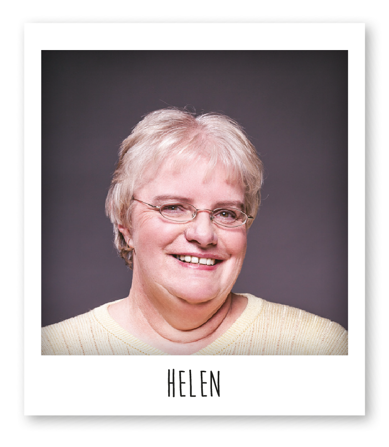 Helen is one of the knitters who works for Funi.
