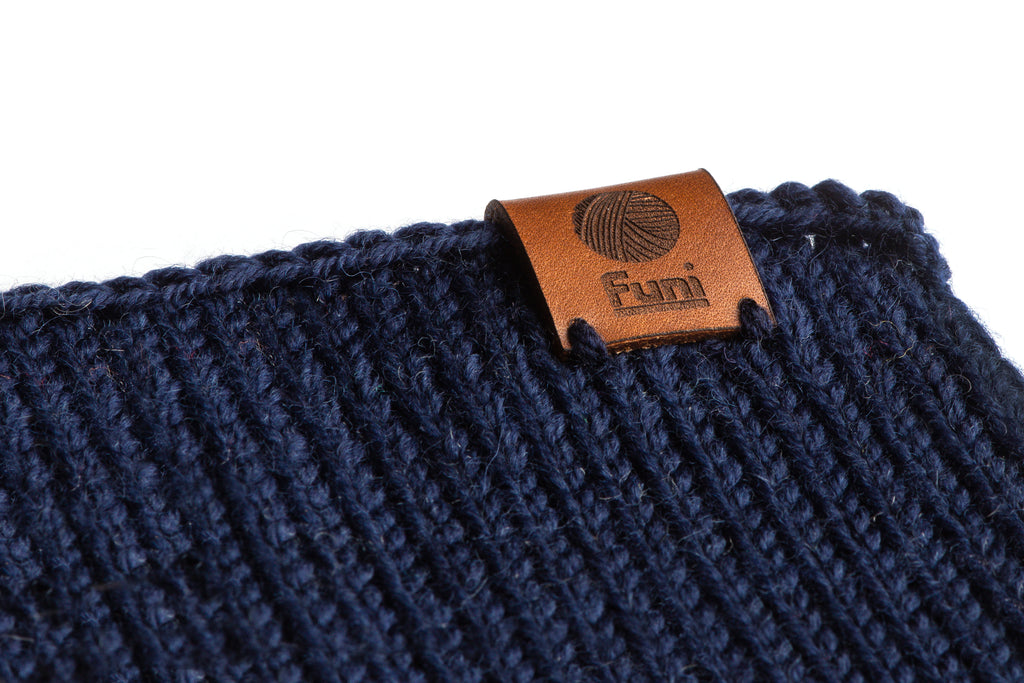 knitted merino wool sample
