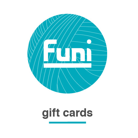 Funi gift vouchers for wooly hats