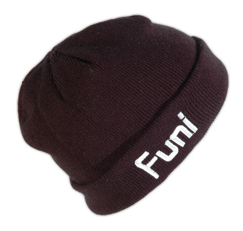 black funi fisherman beanie discount