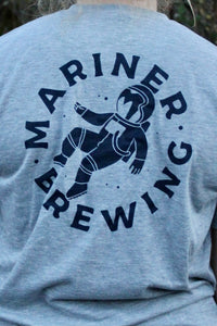 Mariner Brewing Tee - Heather Grey