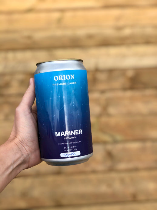 750ml Orion Lager Crowler
