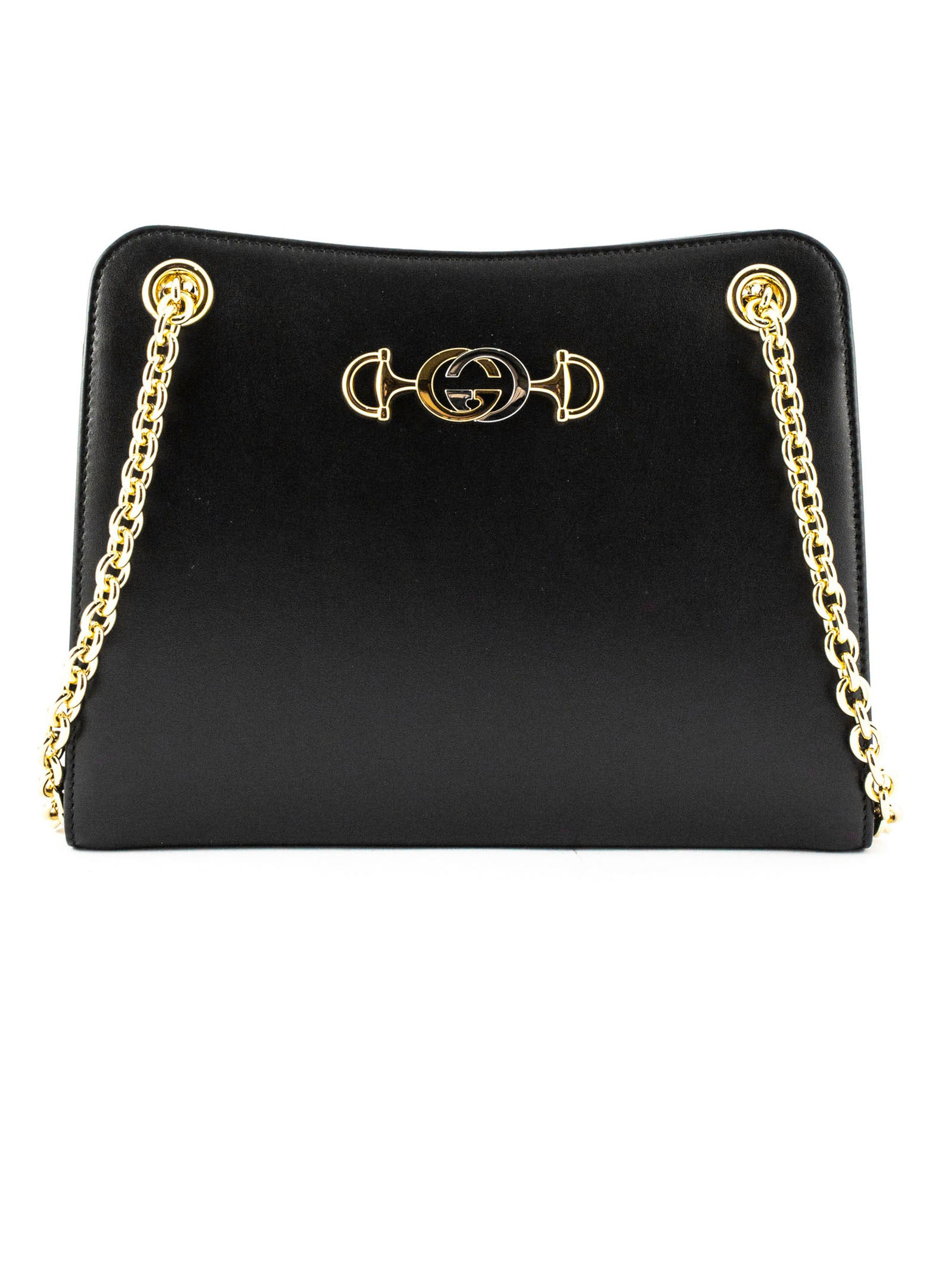 GUCCI ZUMI LEATHER SHOULDER BA