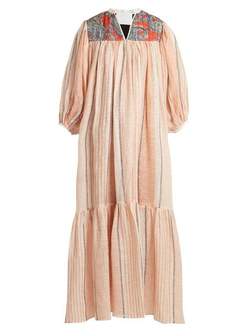 LOVE BINETTI - JONI MITCHELL DRESS - ORANGE