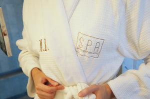 Luxury Spa Robe with Complimentary Monogram