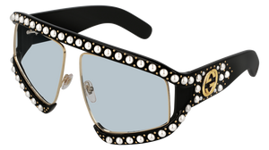 GUCCI-GG0234S-001 63 Sunglass WOMAN ACETATE