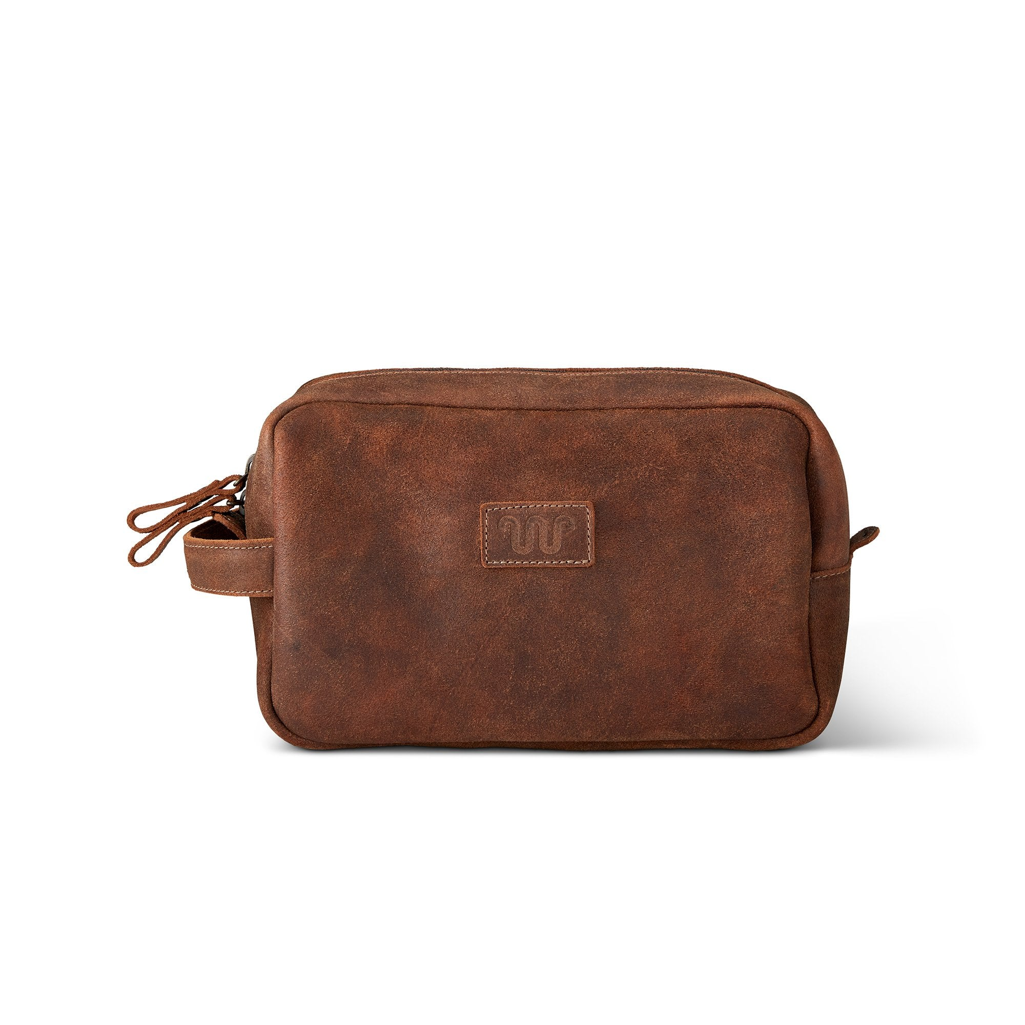King Ranch Roughout Dopp Kit - New Ginger