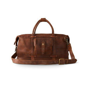 King Ranch Roughout Duffel - New Ginger