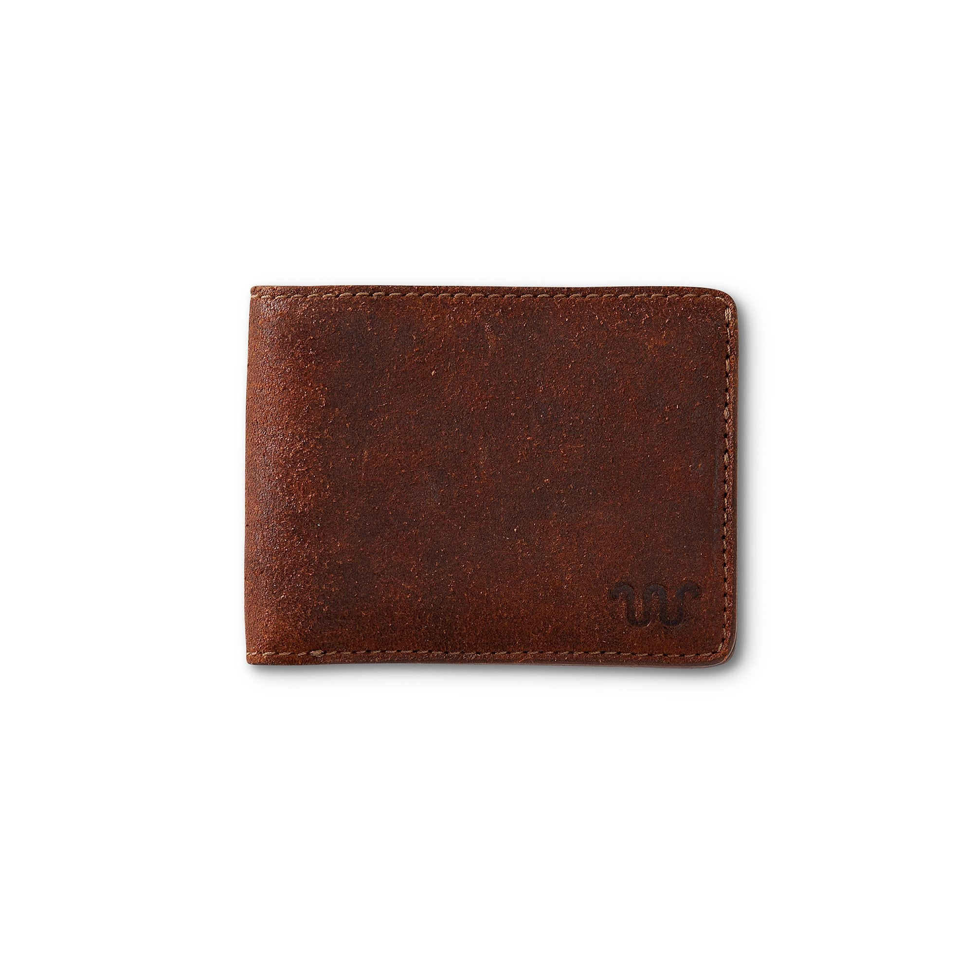 King Ranch Roughout BiFold wallet - New Ginger