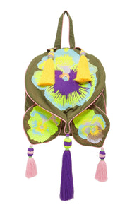 YULIA MAGDYCH - PANSIES BACKPACK