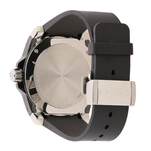 GUCCI - Black Rubber Gucci Dive Watch 45mm - YA136204A