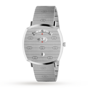 GUCCI - Steel Grip Watch, 38mm - YA157410