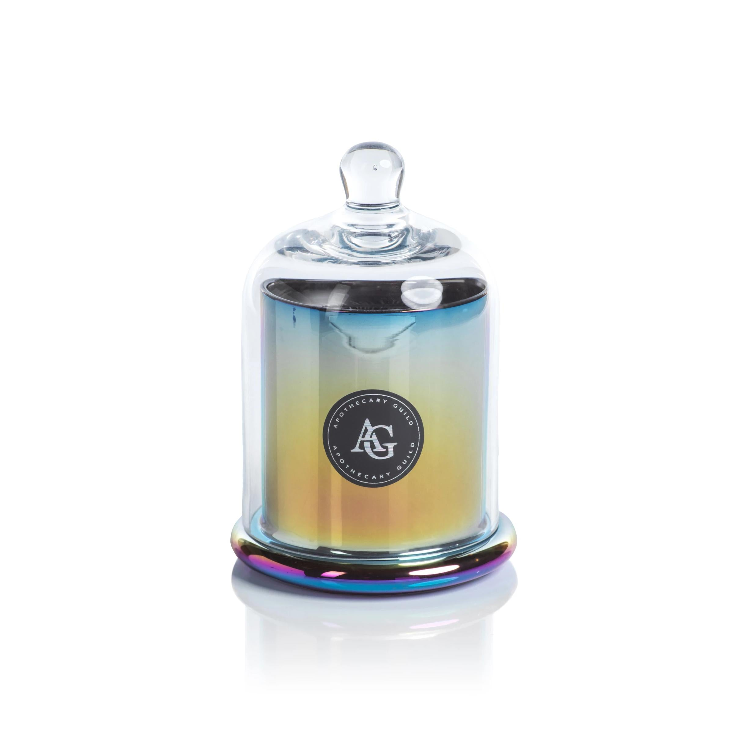 RAINBOW METALLIC DOME CANDLE