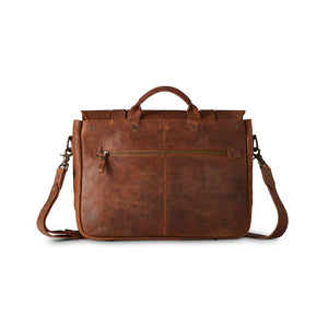 King Ranch Messenger Roughout - New Ginger