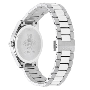 GUCCI - G-Timeless Silver Dial Stainless Steel Watch - YA1264095