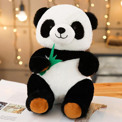 Peluche Panda Assis Face