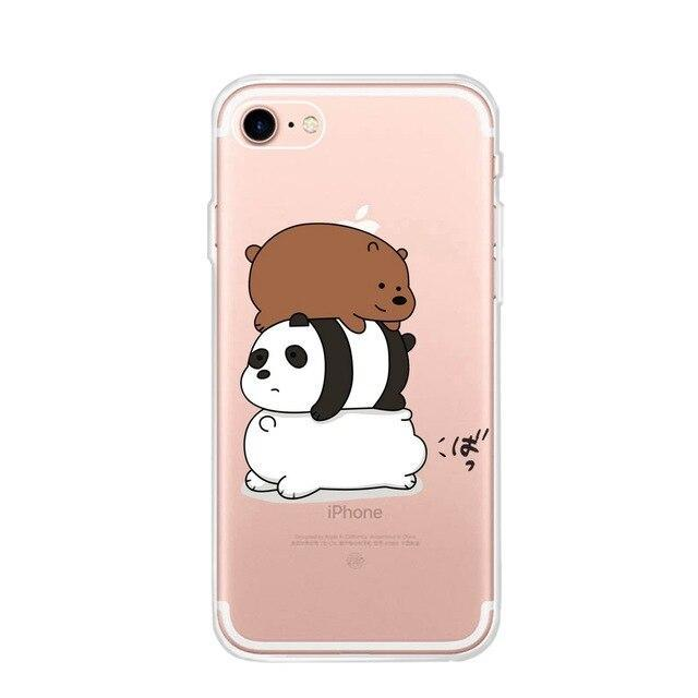 Coque de Panda iPhone 6 Plus Petit Panda