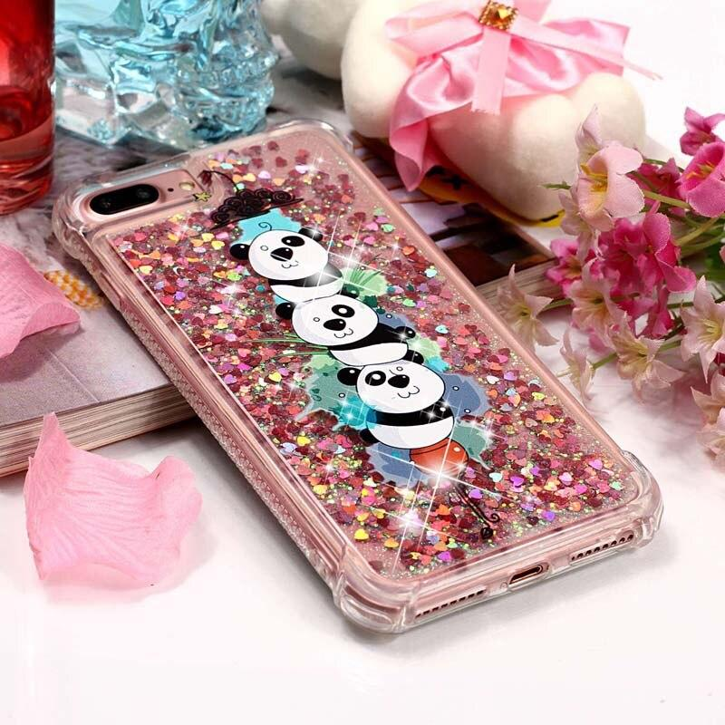 Coque iPhone 6s Kawaii Paillette Petit Panda