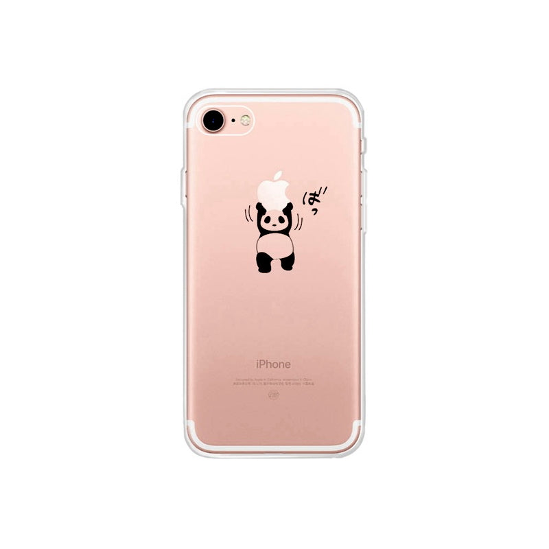 Coque iPhone 7 Panda Petit Panda