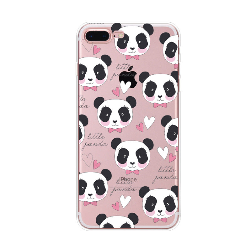 Coque iPhone 8 Kawaii Petit Panda