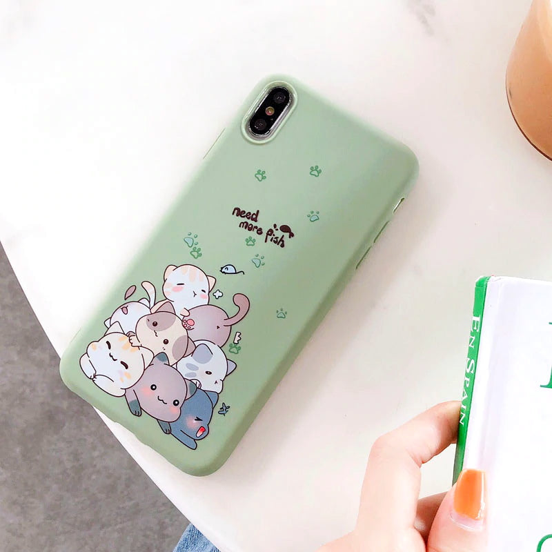 Coque iPhone SE Kawaii