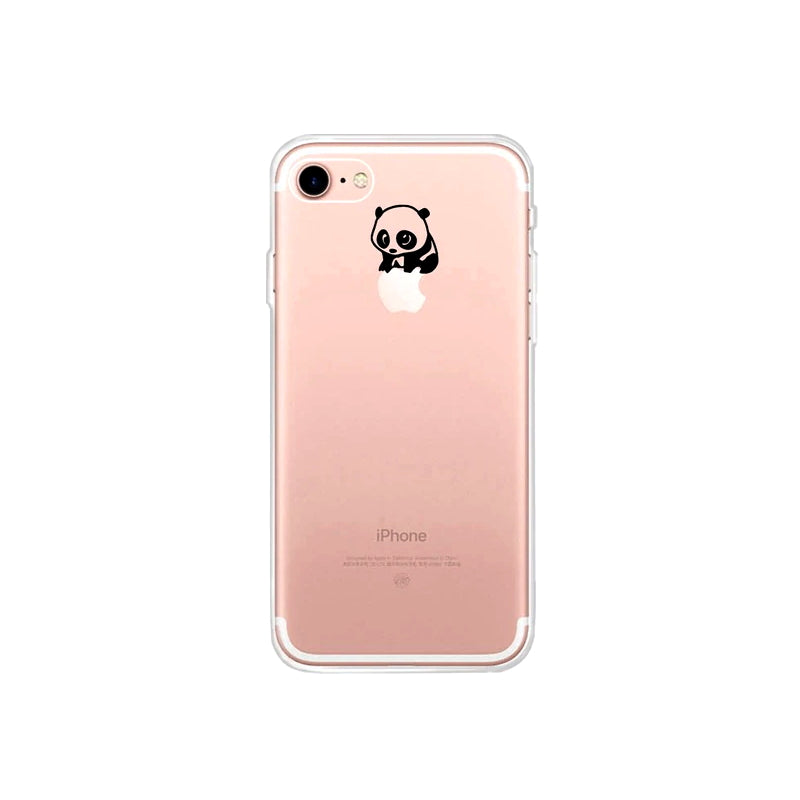 Coque iPhone SE Panda Petit Panda
