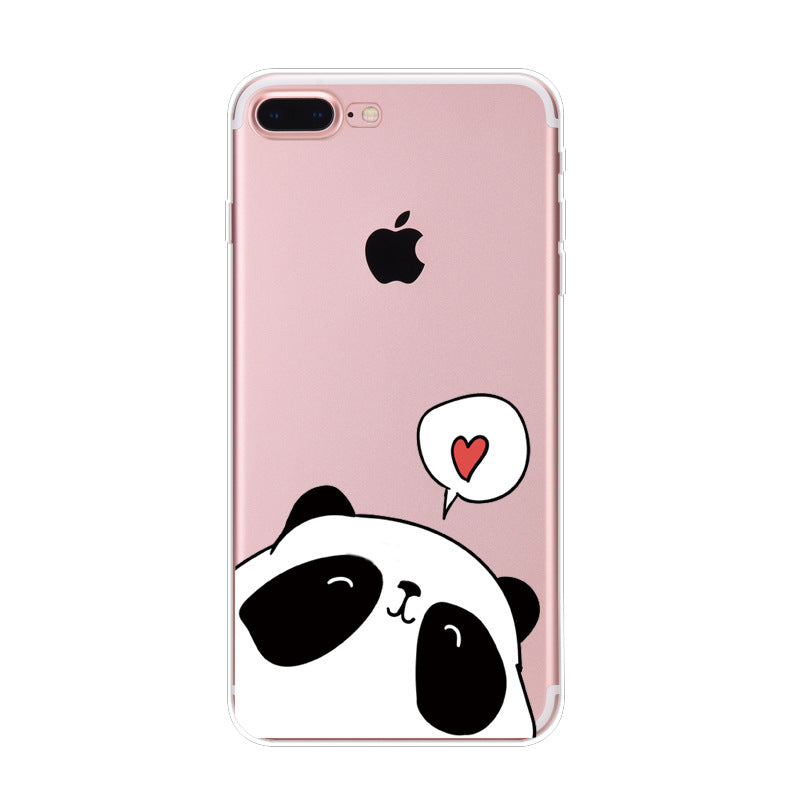Coque iPhone X Panda Petit Panda