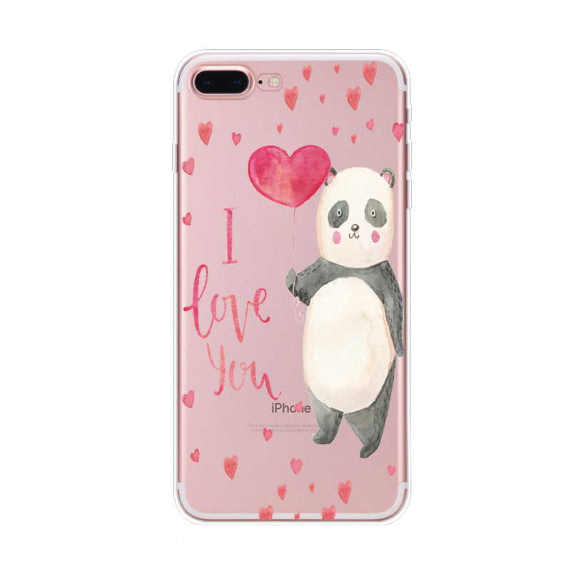 Coque iPhone XR Kawaii Petit Panda