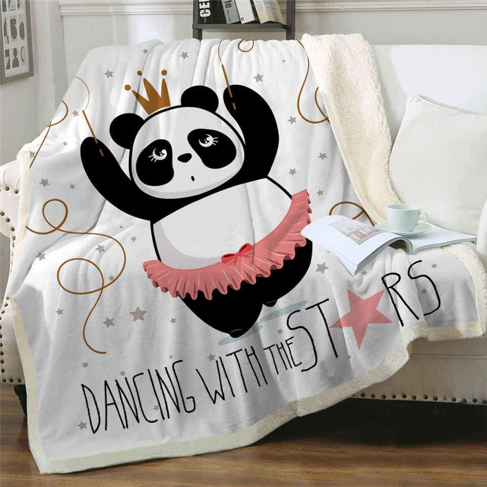 Plaid Panda Queen Petit Panda
