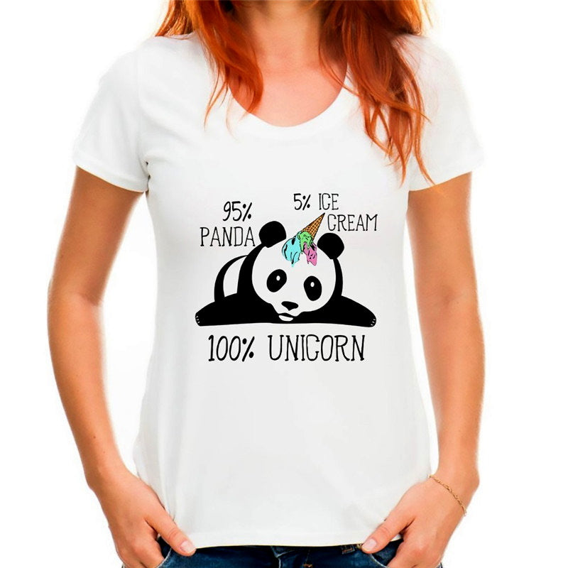 T-Shirt Pandicorne Ice Cream Petit Panda