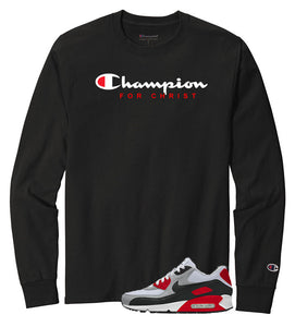CHAMPION FOR CHRIST LONG SLEEVE TEE