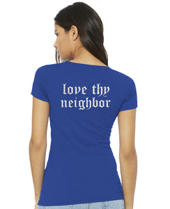 Thou shall not try me / love thy neighbor