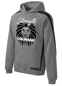 Strength and Courage Hoodie