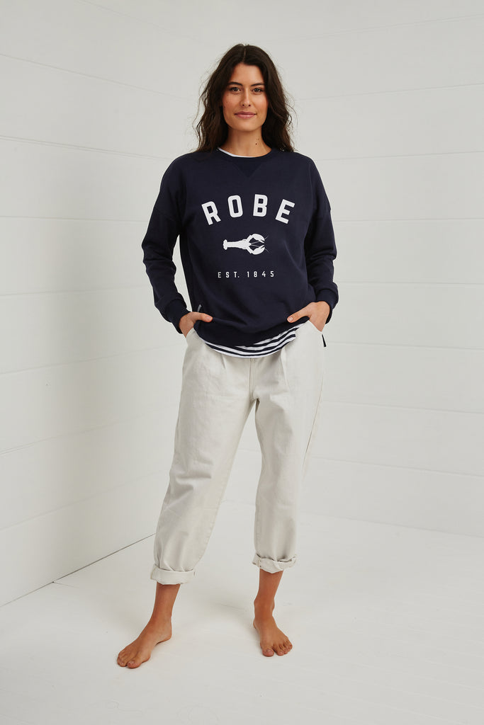 ROBE CREWNECK SWEATER
