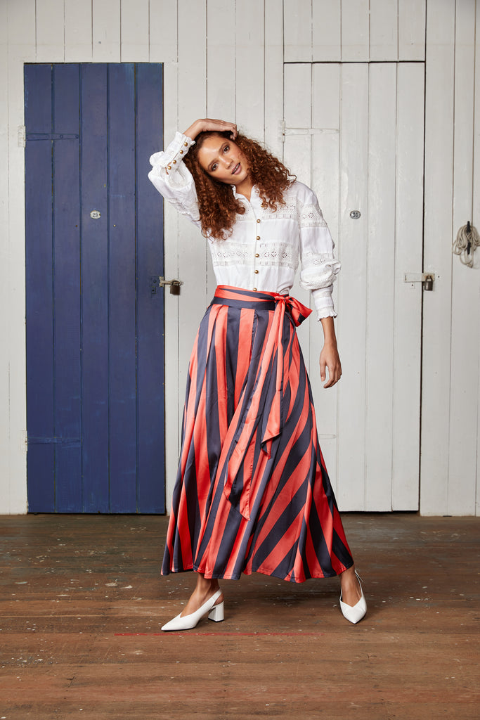 THE ATLANTIC MAXI SKIRT.