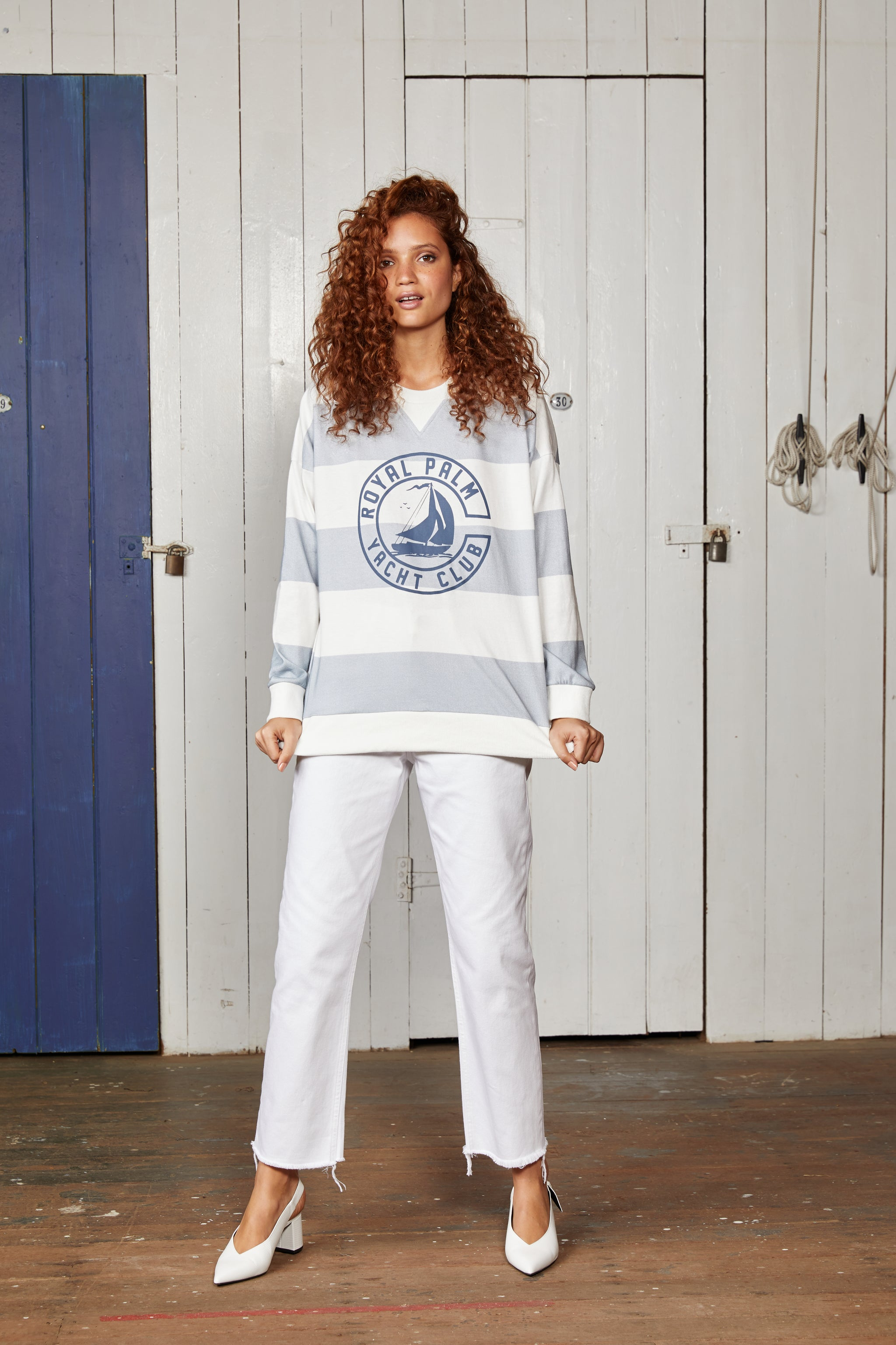YACHT CLUB SWEATER.