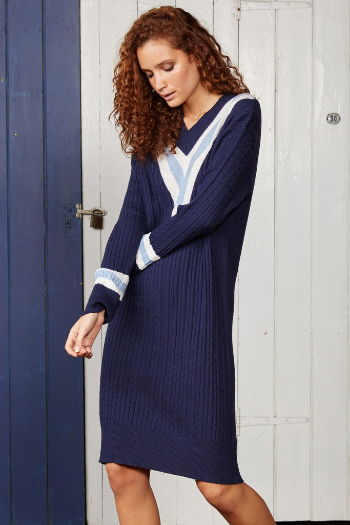 THE FIRST FLEET KNIT DRESS.