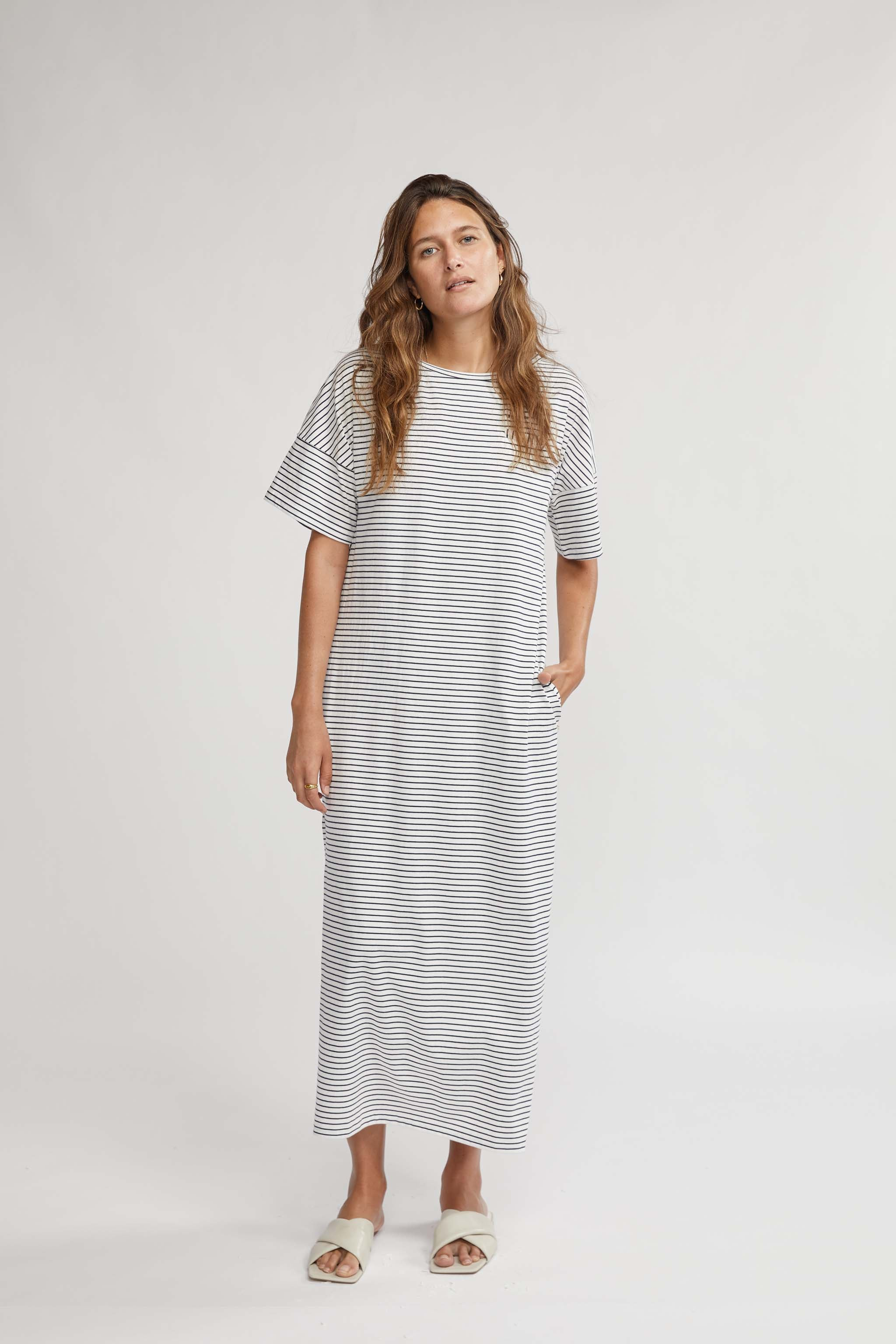 THE BEES KNEES MAXI TEE DRESS