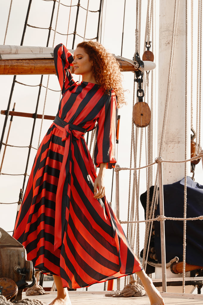 THE JOLLY ROGER MAXI DRESS.