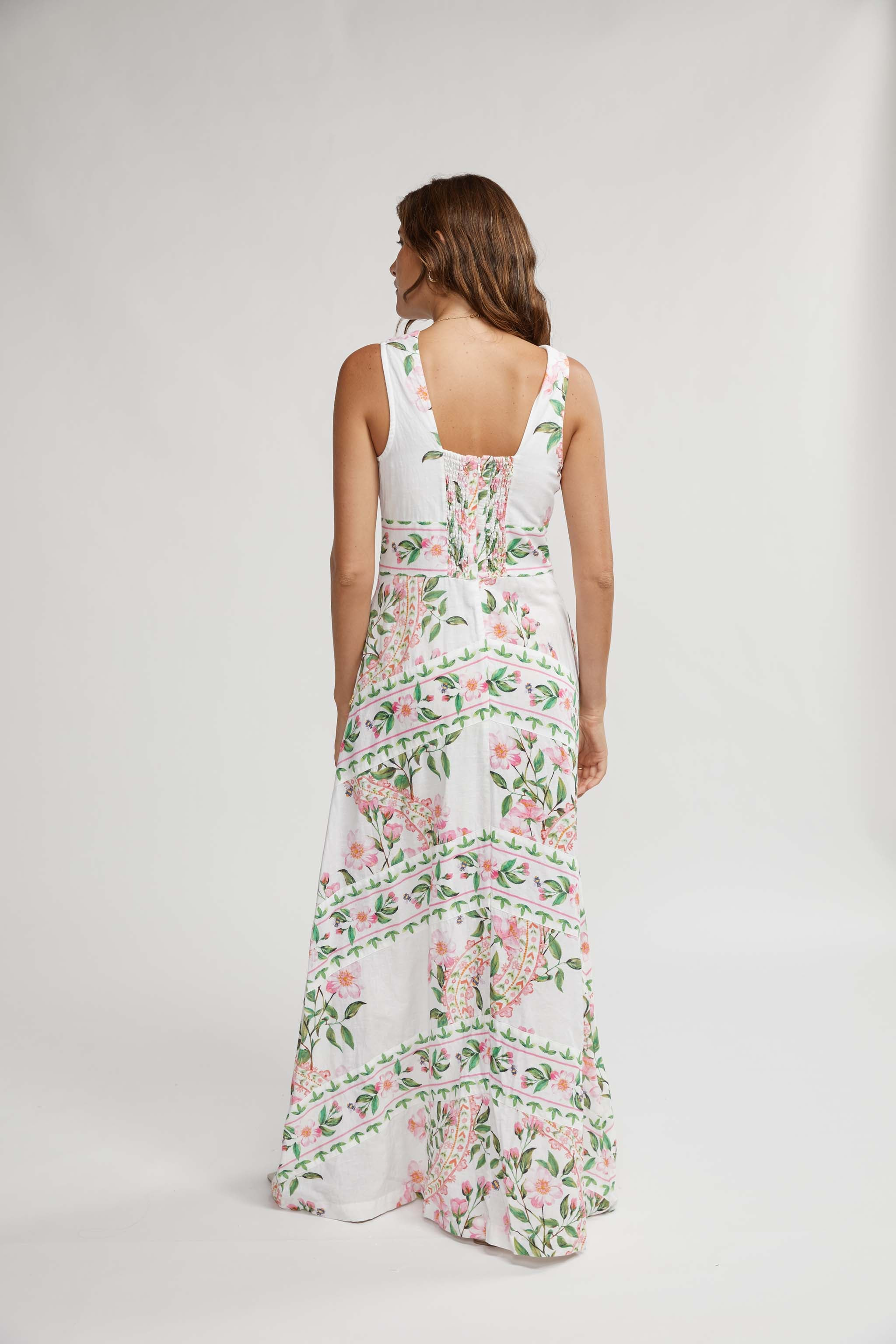 PORTMEIRION MAXI DRESS