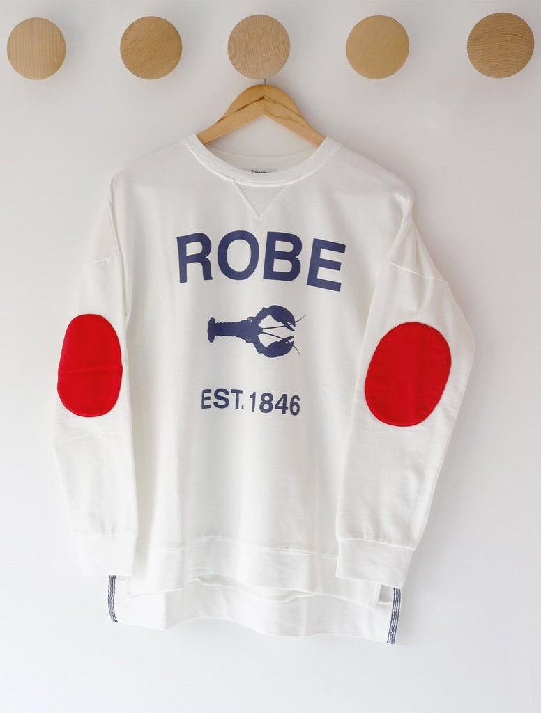 ROBE SWEATER. (WHITE)
