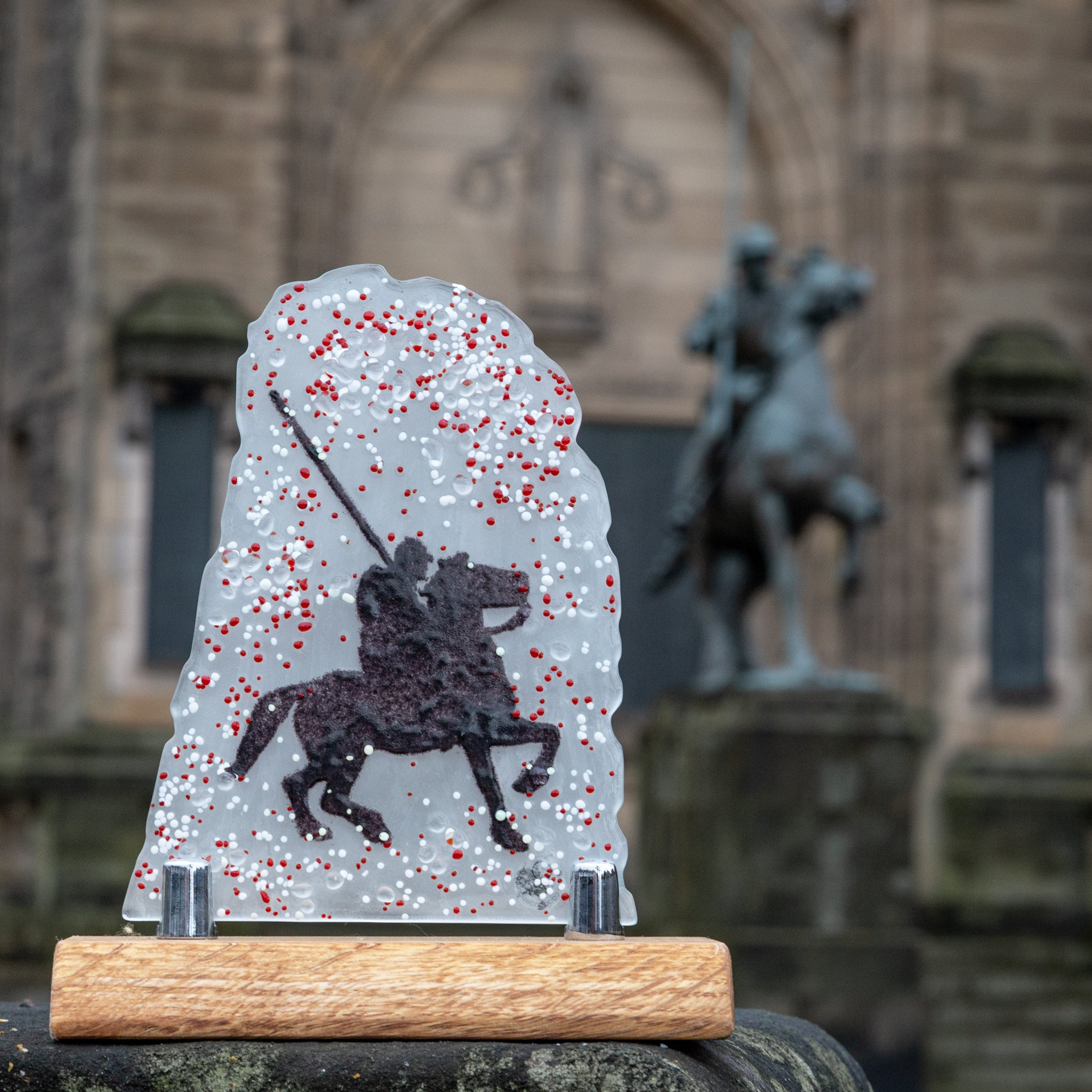 BORDER REIVER - GLASS SCULPTURE