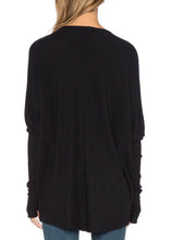 Load image into Gallery viewer, Grace Top Rib Knit Oversize