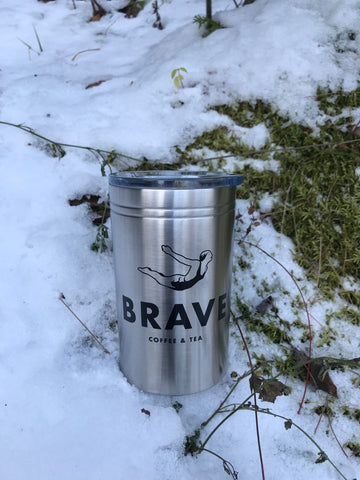 12 oz Stainless Steel Travel Mug