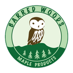 Barred Woods Maple Syrup Half Pint
